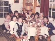 8 year old birthday party, 1984