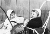 Children in prams