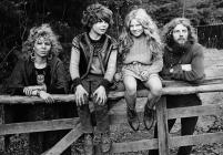 Hippies at Ystrad Meurig