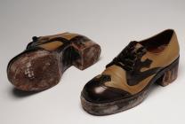 Mens platform shoes, 1970s