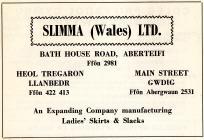 Hysbyseb Slimma (Wales) Ltd