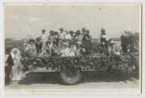 Maesheli Children on a lorry at Penparcau Carnival