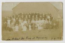 Ysgol Sul Brynmeinog, Llanddewi-Brefi 1912