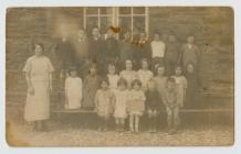 Llanddewi-Brefi Primary School c.1922