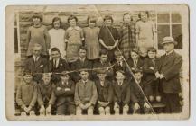 Llanddewi-Brefi Primary School c.1919