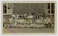 Llanddewi-Brefi Primary School c.1960