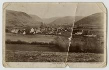 Photograph of Llanddewi Brefi Village,...