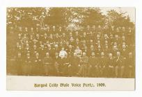 Bargoed Teify Male Voice Choir 1909
