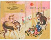 A book of Christmas Songs given to customers at...