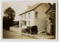 Pentrebach ger Llanbedr Pont Steffan c.1930