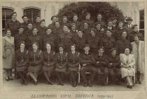 Llanwenog Civil Defence 1939-1945
