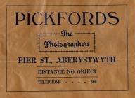 Paper bag from Pickfords Photographers