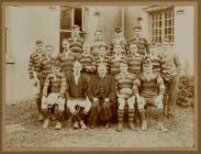 St. David's College Lampeter Rugby Team...