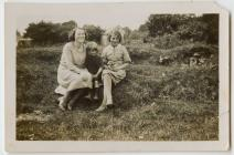 Girls from Pentrebach near Lampeter c.1930