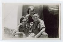 Members of the British Army, Singapore 1947