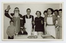 Staff at Tanybwlch Convalescent Home
