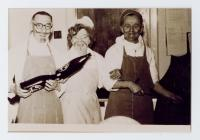 Chefs and Cooks at North Road Hospital...