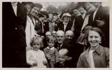Esgairnant Sunday school trip, Talley 1950s