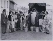 No water in Llansawel 1959