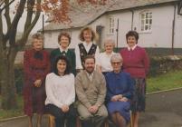 Llansawel Primary School staff