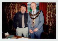 Presenting Duke of Edinborough Awards in...