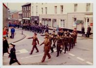 Aberystwyth Town Mayor's Parade 1981