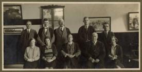 The Teaching Staff at Llandysul County School