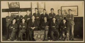 Llandysul County School Soccer Team 1929-30