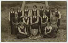 Llandysul County School Hockey Team c.1930
