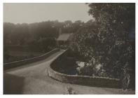 The bridge and church, Llanystumdwy