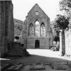 Llangollen. Valle Crucis Abbey
