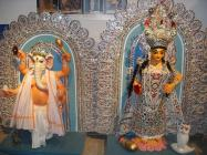 Sculptures of Ganesha and Lakshmi