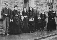 A Tonyrefail family, about 1890