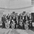 Brass band, National Eisteddfod of Wales 1972,...