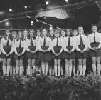 Girls' choir, 1972 National Eisteddfod...