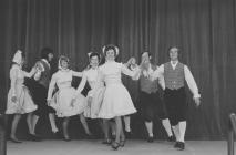 Folk dancing group, National Eisteddfod of...