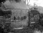 The gate of Llanfrothen churchyard