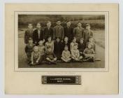 Llanwrin School, 1938