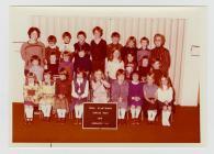 Pupils of Glantwymyn School 1979