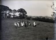 Haymaking in Carmarthen