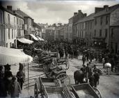 A view of Lammas Street Carmarthen