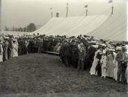 The Fancy Fair at Carmarthen, 1904