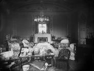 drawing room in Plas Coed-coch, Betws-yn-Rhos