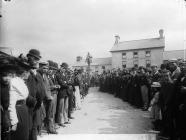 Unveiling of the Henry Richard monument, Tregaron