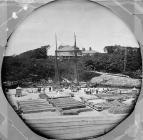 Quay and Colonel Wyatt's house, Y Felinheli