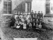 Y Gyffylliog school pupils