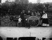 Mulvaney family, Llangollen