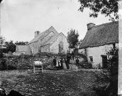 church and inn, Cellan