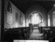 Interior of the church, Llanddowror