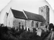 church, Llandingad